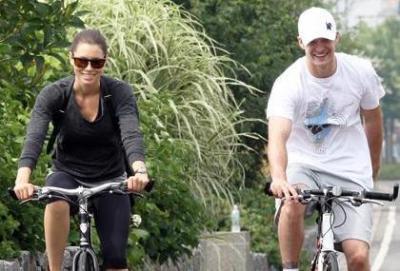 La bici piace anche ai vip