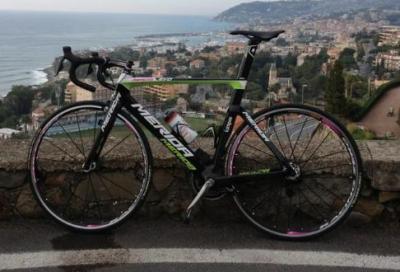 La bici di Pozzato