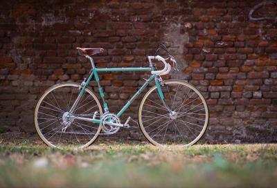 Bianchi pedala a L'Eroica