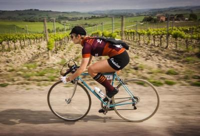 Paola Santini, la bici è nel dna