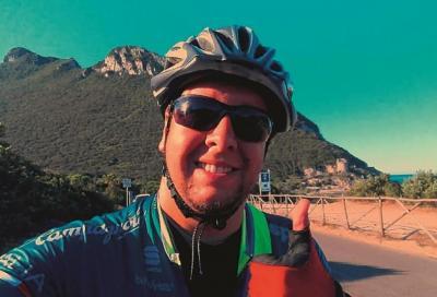 Daniele Abela, dal divano alla bici