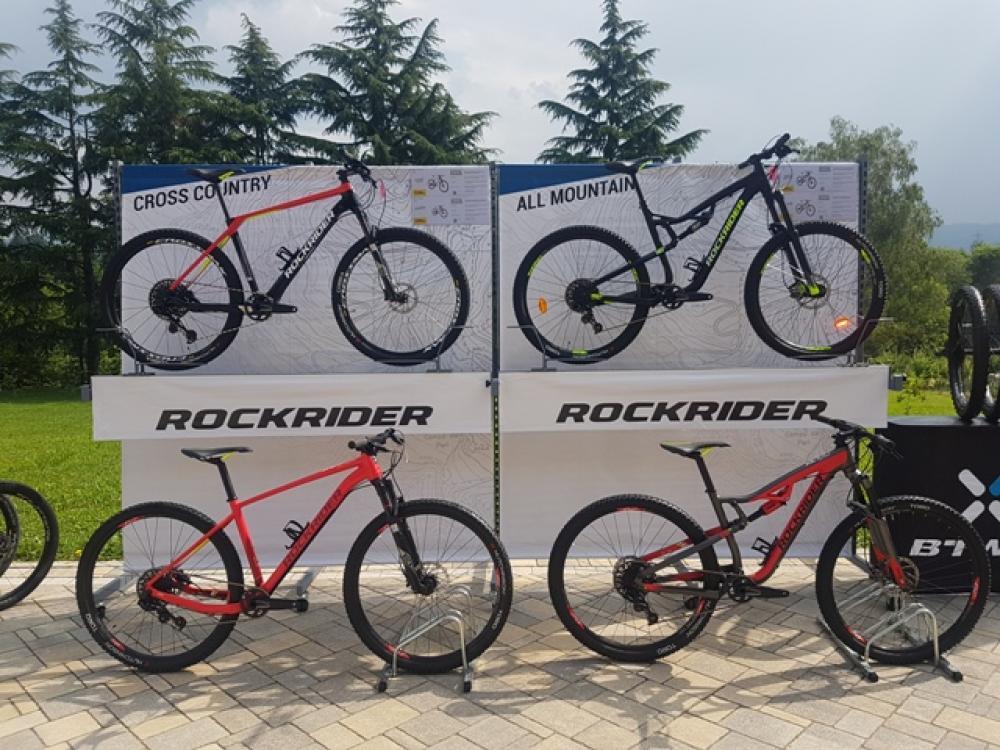 Btwin Evolve In Rockrider Cyclist Magazine Italia