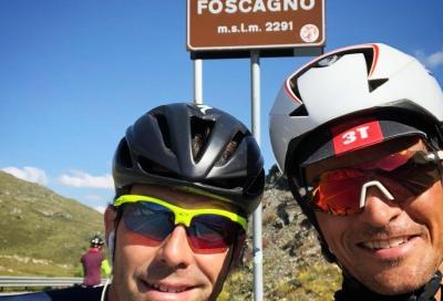 """Daniel Fontana: """"Pedalare a Livigno. Una favola da vivere in gruppo"""""""