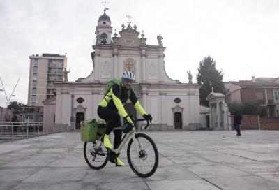 Da Milano ad Assisi in bicicletta, per segnare un cambio di vita