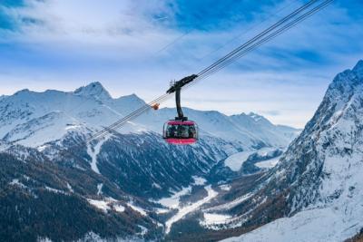 Il Monte Bianco in rosa per il Giro d'Italia