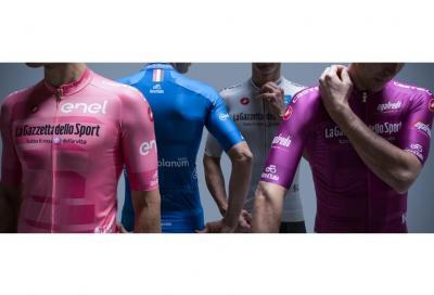 Le maglie del Giro d'Italia numero 102