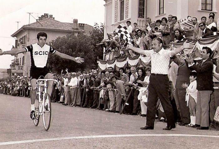 Celestino Vercelli, una vita a spingere sui pedali