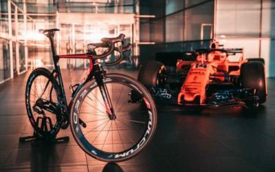 Alonso e la passione per il ciclismo... un