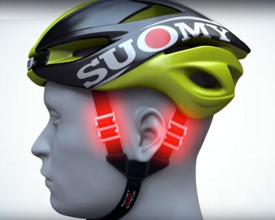 Il safety system di Suomy SMART STRAP