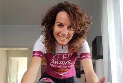 12 ore in sella per raccogliere fondi: la sfida di Paola Gianotti