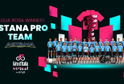 All'Astana il Giro d'Italia Virtual