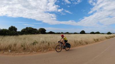 In bici sui mari del Salento