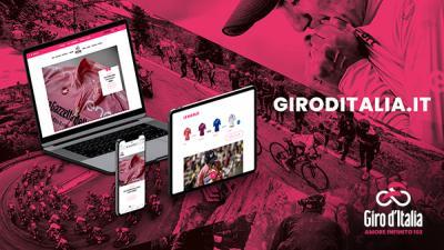 Il Giro d'Italia ha un nuovo sito