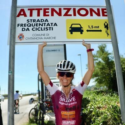 Il Giro del Piemonte di Paola Gianotti per la sicurezza in bici