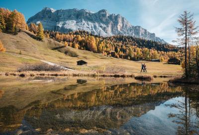 Alta Badia, i sapori dell'autunno da scoprire a piedi e in bici