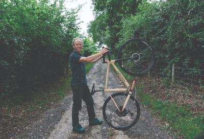 Una bici gravel tutta in legno? Si può fare!