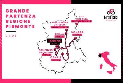 Sarà il Piemonte a ospitare la grande partenza del Giro d'Italia