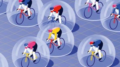 Bici e attività sportiva in Zona Rossa e Zona Arancione: è sempre possibile pedalare