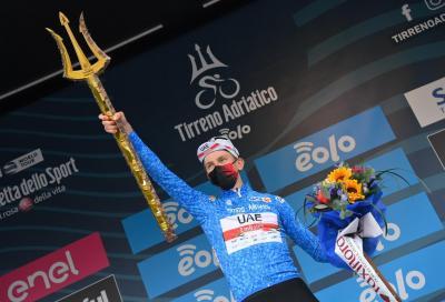 Tadej Pogacar domina e vince la Tirreno Adriatico