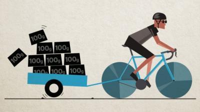 Quanti chilometri dobbiamo pedalare per perdere 1 chilo