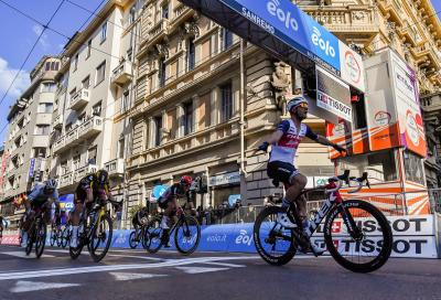 Jesper Stuyven vince a sorpresa la Milano-Sanremo