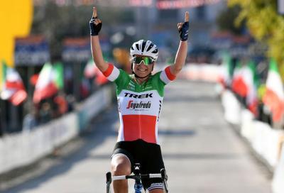 Super Elisa Longo Borghini al Trofeo Binda