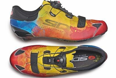 Sixty Multicolor, la scarpa da ciclismo in edizione limitata di Sidi