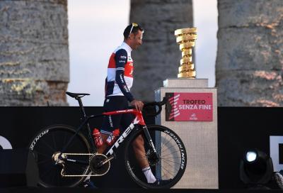 Nibali, caduta in allenamento e frattura del polso. Giro d'Italia a rischio