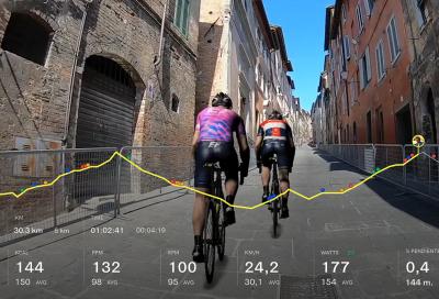 Pedala sulle strade del Giro d'Italia Virtual