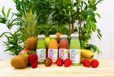 Solo polpa e succo di frutta negli smoothie Innocent per una sana integrazione