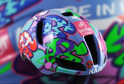 Utopia, lo speciale casco del Giro d'Italia per celebrare il Made in Italy