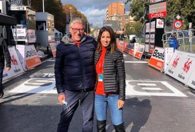 Giada Borgato prima voce tecnica femminile al Giro d'Italia