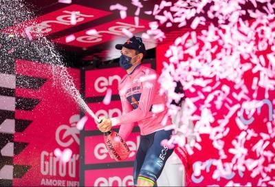 Giro d'Italia: doppietta azzurra nella prima tappa. Filippo Ganna in Maglia Rosa