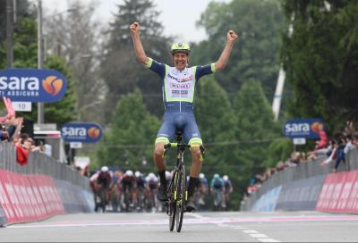 Giro d'Italia: Taco van der Hoorn in fuga vince la terza tappa