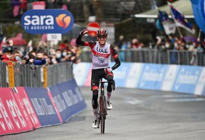 Giro d'Italia: Dombrowski vince in fuga, ma De Marchi è in Maglia Rosa