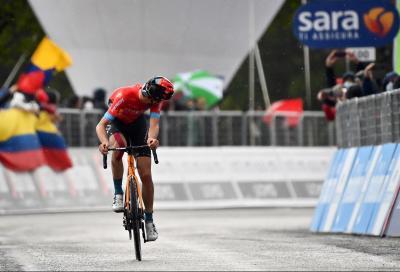 Giro d'Italia: Gino Mader trionfa in solitaria. Attila Valter in Rosa