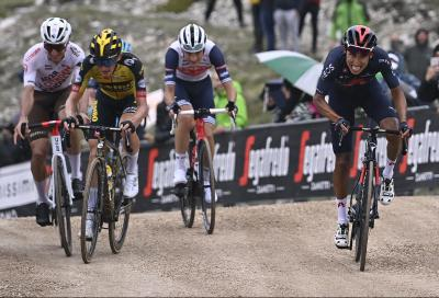 Giro d'Italia: super Egan Bernal, tappa e Maglia Rosa