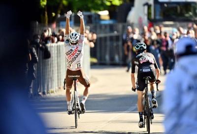 Giro d'Italia: primo successo rosa per Andrea Vendrame