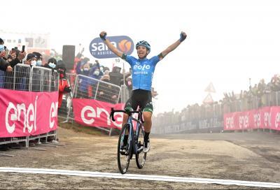 Giro d'Italia: sullo Zoncolan vince un immenso Fortunato. Per Bernal prova di forza