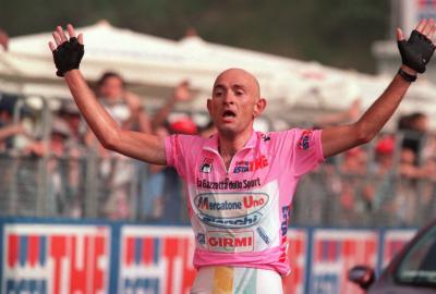 È Marco Pantani il Campione che ha regalato più emozioni nei 90 anni del Giro d'Italia