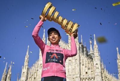 Giro d'Italia: Bernal trionfa a Milano, Ganna Re della crono