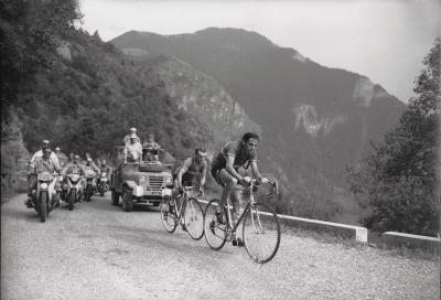 Fausto Coppi battezza l'Alpe d'Huez