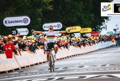 Julian Alaphilippe si prende la prima tappa del Tour de France