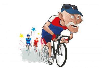 Invecchiare non è un ostacolo per diventare un ciclista migliore