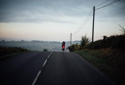 Lachlan Morton già al traguardo finale del Tour de France