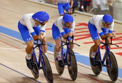 Giochi Olimpici: Italia, record del mondo nell'inseguimento a squadre