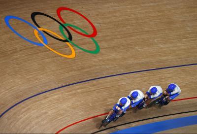 Giochi Olimpici: Italia d'oro nell'inseguimento a squadre in pista