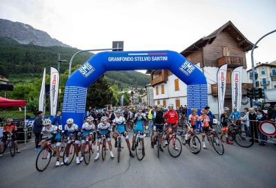 Ciclisti da tutto il mondo per la Granfondo Stelvio Santini 2021