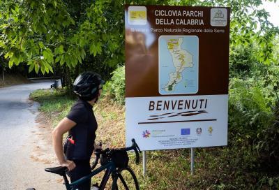 545 chilometri in bici nel cuore della Calabria