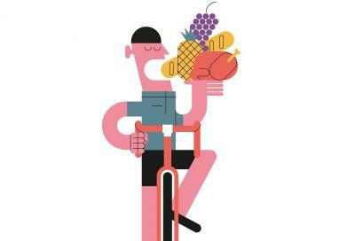 Quanto e quale cibo consumare prima di un'uscita in bici